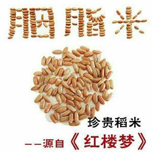 胭脂米是一种极为珍贵的稻米,营养极其丰富,米粒呈红色,中...