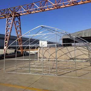 我公司专业生产温室大棚骨架 镀锌椭圆管:规格25*50...