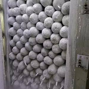 马来西亚猫山王榴莲,带壳液氮冷冻 批发价135rmb/...