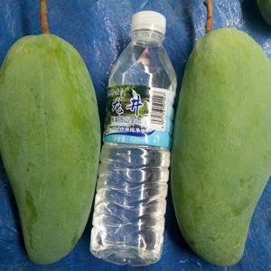 绿色水果,无污染,数量多且质量好。